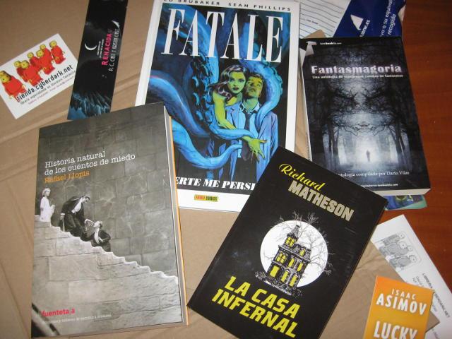 Historia natural de los cuentos de miedo, Fatale, La casa infernal, Fantasmagoria